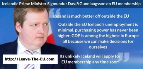 TWITTER ICELAND'S PM On EU vs UK 01