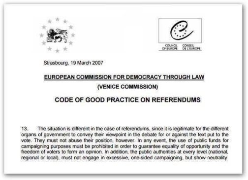 AN EU STATEMENT ON REFERENDA 01
