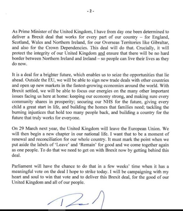 MAY BreXit Begging Letter 02